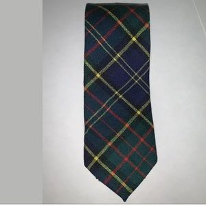 Macmillan 100% New WOOL Neck Tie Made In Scotland.